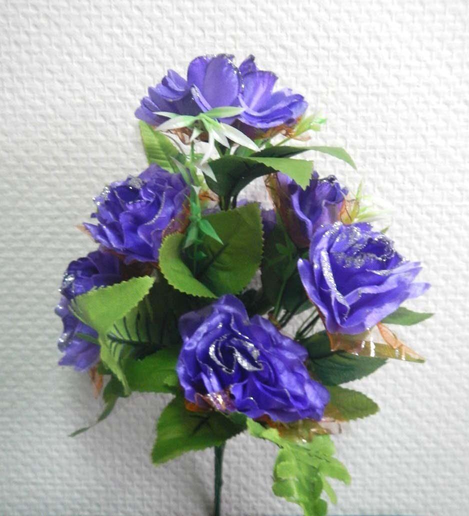 Цветы в плетенные вазы